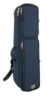 Tom and Will 26TB-387 Tenor Trombone Gig Bag Case, Blue **NEW**