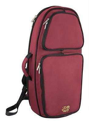 Tom and Will 26TH-359 Tenor Horn Gig Bag Case, Burgundy Red **NEW**