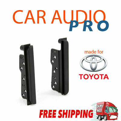 Toyota HILUX 2005-2011 radio side trims stereo facia kit 2 din double fascia