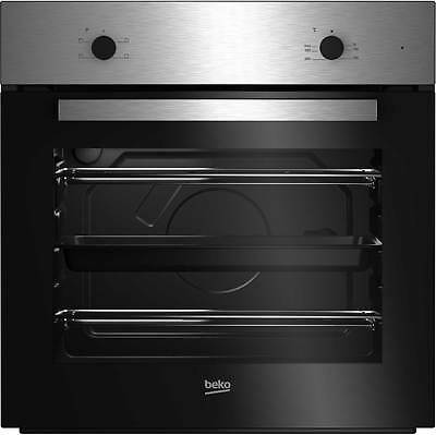 Beko BRIC21000X Built In 59cm Single Cavity Electric Single Oven Stainless