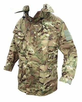 MTP Windproof Smock/Jacket With Hood - British Army - Genuine Issue - Used