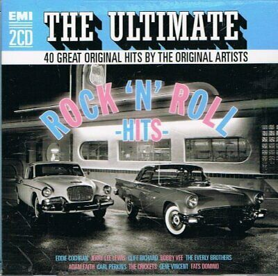 Various Artists : The Ultimate Rock n Roll Hits CD