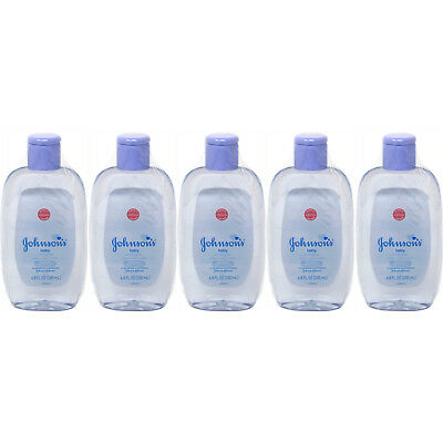 5 Pack JOHNSON'S Baby Cologne 6.80 oz Each