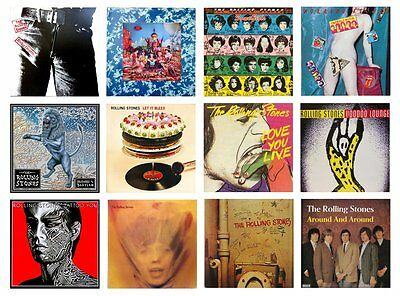 VARIOUS TITLES MINIATURE 1//12 Non Playable RECORD ALBUM  LP THE DAMNED