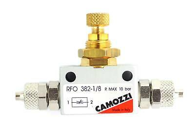 Camozzi Precision Flow Controller for Aquarium CO2 Systems