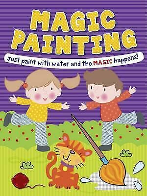 Magic Painting Book Boy & Girl: Just Paint with Water and the Magic Happens!