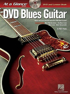 At A Glance Guitar - Blues Guitar Gitarre Buch, DVD (Region 0)