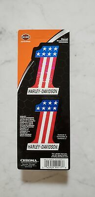 "Harley-Davidson Official #1 American Flag Decals 3"" includes two Free Shipping"