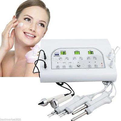 BIO Microcurrent Facial Spa Electrotherapy Beauty Machine 3MHZ Ultrasound Spa