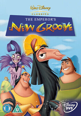 The Emperor's New Groove DVD (2001) Mark Dindal cert U FREE Shipping, Save £s
