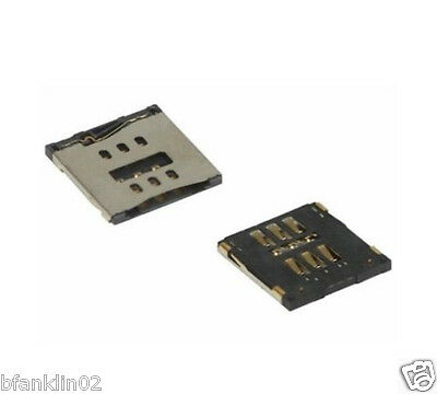 iPhone 5C 5S Sim Card Connector Reader Holder Tray Socket Replacement Part