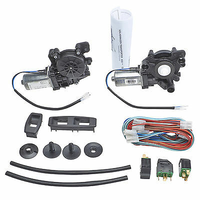 VW Transporter T5 - Front Right Left Window Regulator Conversion Kit Electric