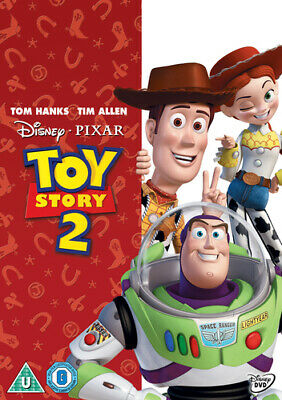 Toy Story 2 DVD (2010) John Lasseter cert U Incredible Value and Free Shipping!