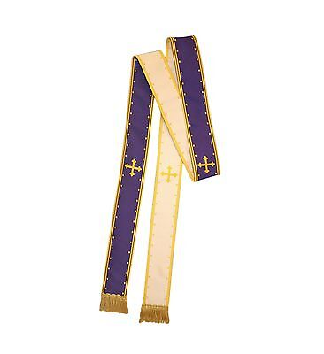 NEW Clergy Sick Call Stole | Reversible Stole*