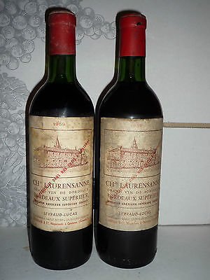 1 CHATEAU LAURENSANNE 1959 Bordeaux Superieur   ilvino.collezion