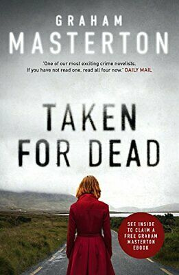 Taken for Dead (Katie Maguire) by Masterton, Graham Book The Cheap Fast Free