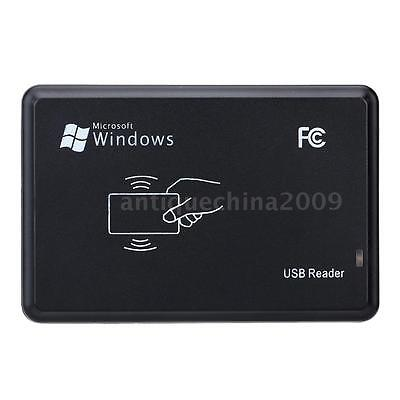 RFID 13.56MHz Proximity Smart Card IC Reader Win8/Android/OTG Supported E7WT