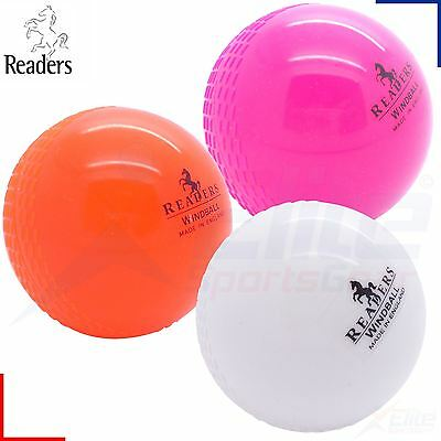 Readers Windball Cricket Practice Indoor Training Coaching Balls Adults Children