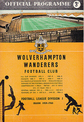 1959 FA Charity Shield - Wolves v Nottingham Forest