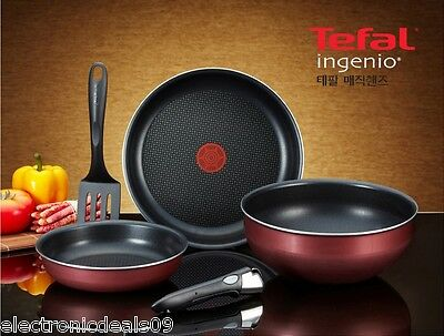 Tefal Ingenio 5 Pcs Cookware Set - Brand New MADE IN FRANCE