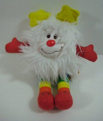 "White SPRITE Rainbow Brite Toy Play 2003 8"" Plush Stuffed Toy B174"