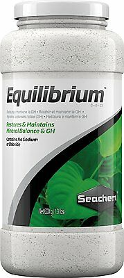Seachem Equilibrium 600gram 116044301 Style Name: CLASSIC 1.6 pounds NEW BRAND