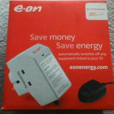 Eon Power Down Energy Saver TVA106 Plug For TVs BNIB