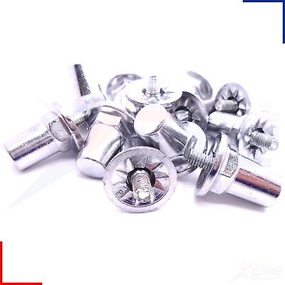 Sports Rugby League Boot Aluminium Metal Screw Studs 21mm Set of 12 or 16