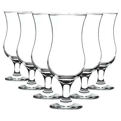 Rink Drink Pina Colada Cocktail Glasses - 460ml (16oz) - Gift Box Of 6