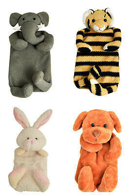 Vagabond Fluffy Animal 1.0L Hot Water Bottles