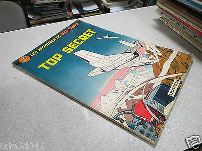 Ga1 Bd Buck Danny Top Secret Reedtion Red 1966 *