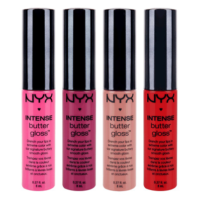 Nyx Cosmetics Brand New Intense Butter Lip Gloss 0.27 Oz Drench Your Lips!