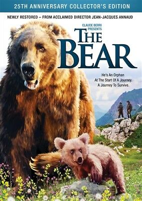 THE BEAR New Sealed DVD 25th Anniversary Collector's Edition