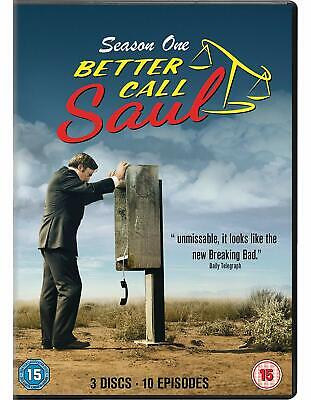 BETTER CALL SAUL Stagione 1 Serie Completa BOX 3 DVD in Inglese NEW .cp