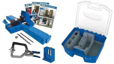 Kreg K5MS & KTC55 Pocket Hole Jig Master System with Organizer Storage Case