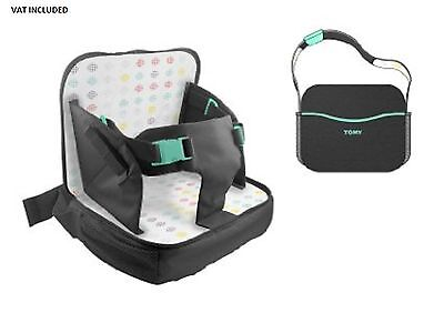 TOMY Freestyle 3-in-1 Baby Toddler Booster Feeding Seat Changing Nappy Carry Bag