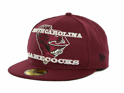 online store 05c8a 9387e New Era South Carolina Gamecocks NCAA State Insider 59FIFTY Fitted Cap Hat 7
