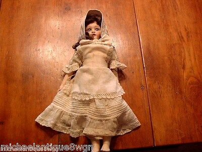 "Antique 13 1/2"" German Gebruder Heubach #200/2 Open Mouth Character Doll"