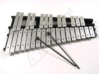 30 NOTE GLOCKENSPIEL WITH BAG AND BEATERS xylophone NEW
