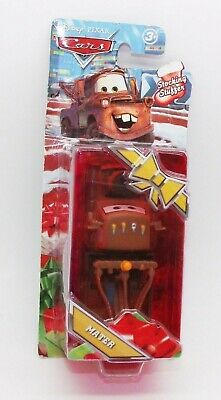 "Walt Disney's Cars Pixar Tow Mater Stocking Stuffer Car 4"" Mattel 2010 NEW"