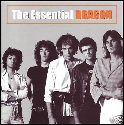 DRAGON (2 CD) THE ESSENTIAL ~ O ZAMBEZI~GET THAT JIVE~MARC HUNTER ~ 70's *NEW*