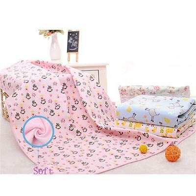 Baby Newborn Toddler Changing Pad Cotton Printed Cover Waterproof Urine Mats B