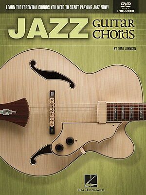 Chad Johnson: Jazz Guitar Chords Gitarre Notenbuch, DVD (Region 0)