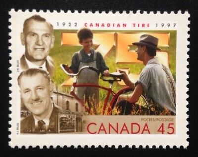 Canada #1636 HF MNH, 75th Anniversary Canadian Tire Stamp 1997