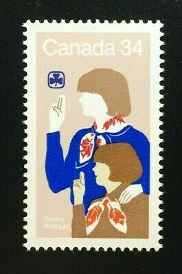 Canada #1062 MNH, Canadian Girl Guides Stamp 1985