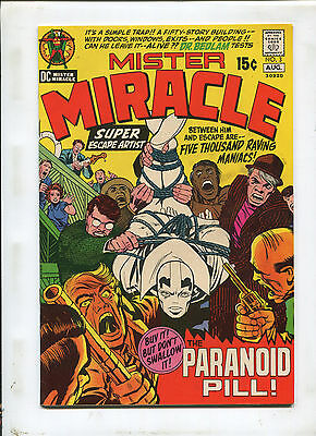 Mister Miracle #3 (9.0) The Paranoid Pill! 1971