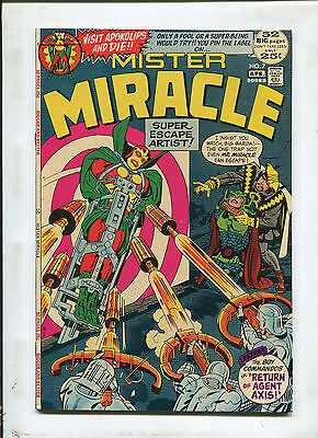 Mister Miracle #7 (9.2) Return Of Agent Axis! 1972