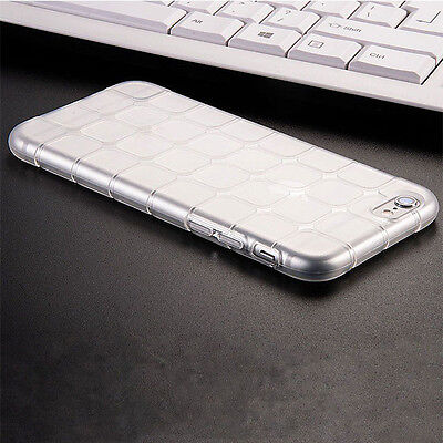 Clear Luxury Shockproof Silicone/Gel/Rubber Case Slim Cover For iPhone Sony LG