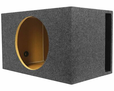 "Rockville RGV15 Single 15"" Vented Car Sub Enclosure Box 3.51 Cu Ft, 3/4"" MDF"