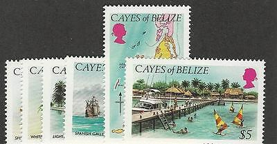 Belize, Cayes Of, Postage Stamp, #1//9 Mint NH (6 Different), 1984